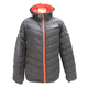 Women's Charcoal/Electric Tangerine Elevation Down Jacket