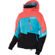 Women's Electric Tangerine/Aqua/Black Fresh Jacket