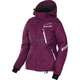 Women's Wineberry Digi/White Fresh Jacket