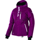 Women's Wineberry Heather/White Pulse Jacket