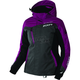 Women's Wineberry/Black/Charcoal Tri Vertical Pro Jacket