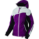 Women's Wineberry/White Tri/Black Vertical Edge Jacket