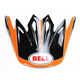 Black/Orange Visor for Moto-9 Tracker Helmet - 8031072