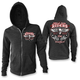 Women's Black Lace Rider Hoody