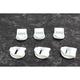 White Blitz Boot Strap Receiver - 3430-0714