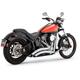 Chrome Big Radius 2-into-2 Exhaust System - 26069