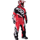 Red/Black/White Insulated CX Monosuit