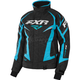 Women's Black Heather/Aqua Team Jacket