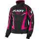 Women's Black Heather/Fuchsia Team Jacket