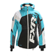 Women's Black/Aqua/White Tri Revo X Jacket