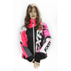 Women's Black/Electric Pink/White Tri Revo X Jacket