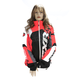 Women's Black/Electric Tangerine/White Tri Revo X Jacket
