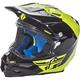 Hi-Vis/Black F2 Carbon Pure Helmet