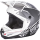 Matte White/Gray Kinetic Elite Onset Helmet