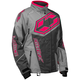 Women's Gray/Hot Pink Launch SE G4 Jacket
