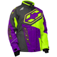 Youth Grape/Hi-Vis Launch SE G4 Jacket