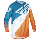 Orange/Dark Teal Evolution 2.0 Jersey