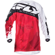 Red/White Kinetic Crux Jersey