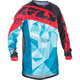 Teal/Red Kinetic Crux Jersey