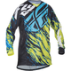 Lime/Blue Kinetic Relapse Jersey