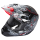 Youth Gray Kinetic Invasion Helmet