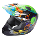 Youth Green Kinetic Invasion Helmet