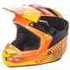 Youth Orange/Yellow Kinetic Elite Onset Helmet