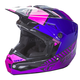 Youth Pink/Purple/Black Kinetic Elite Onset Helmet
