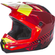 Youth Red/Black/Hi-Vis Kinetic Elite Onset Helmet