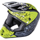 Youth Black/Gray/Hi-Vis Kinetic Crux Helmet