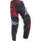 Black/Red Kinetic Relapse Pants