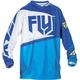 Blue/Hi-Vis F-16 Jersey