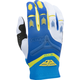 Blue/Yellow/White Evolution 2.0 Gloves