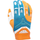 Orange/Dark Teal Evolution 2.0 Gloves