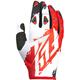 Red/White Kinetic Gloves