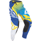 Blue/Yellow/White Evolution 2.0 Pants