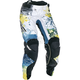 Women's Teal/Yellow Kinetic Pants