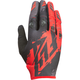 Youth Black/Red Kinetic Gloves