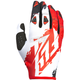 Youth Red/White Kinetic Gloves