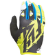 Youth Black/Lime Kinetic Gloves