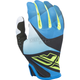 Youth Blue/Black/Hi-Vis Lite Gloves