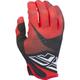 Youth Red/Black/White  Lite Gloves