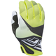 Youth Lime/Black/White Lite Gloves