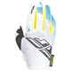 Youth Teal/Yellow Kinetic Gloves