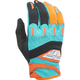 Youth Orange/Teal F-16 Gloves