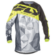 Youth Black/Hi-Vis Kinetic Crux Jersey