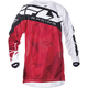 Youth Red/White Kinetic Crux Jersey
