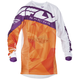 Youth Orange/Purple Kinetic Crux Jersey
