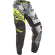 Youth Black/Hi-Vis Kinetic Crux Pants