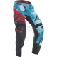Youth Teal/Red Kinetic Crux Pants